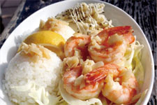 Garic shrimp Rice