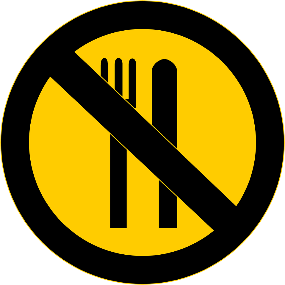 8658-illustration-of-a-no-food-warning-sign-pv
